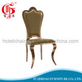 India Style Good Price Stainless Steel Metal Dining Chairs with Restaurant