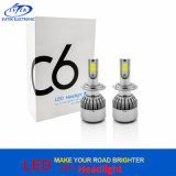 2017 Newest Turbo 36W 3800lm H7 C6 LED Head Light for Car Headlamp