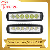 6.3inch 18W LED Work Light Bar for ATV Boat