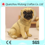 Creative Design Cheap Polyresin Dog Coin Bank for Sale