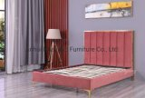 Flat Bed Modern Bed Storge Bed Home Furniture Set Cloth Upholstered Bed Bedroom Furniture Bed Adult Bed Double Bed Wall Bed
