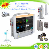 Sun-M500k Cheap Ce Approved Module Patient Monitor with Touch Screen