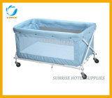 Safety Folding Comfortable Baby Cot for Hotel