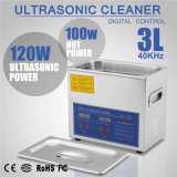 3L Stainless Steel Digital Timer 220W Ultrasonic Cleaner Heater