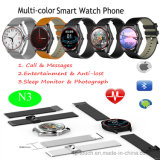Round Touch Screen Smart Watch Phone (N3)
