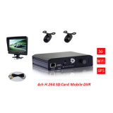 3G SD Card Mobile DVR with GPS Function