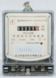CE Certificated Single Phase Static Electronic Kwh Meter with Register