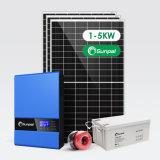 Sunpal Hybrid off Grid Solar System 1kw 2kw 3kw 4kw 5kw 3000W 5000W Solar Panel System Home Price