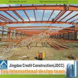 Light Steel Structure Frame Warehouse with Rust Paint