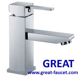 High Quality Square Basin Faucet (GL401A138)