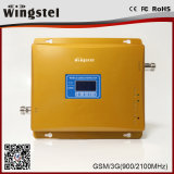 Dual Band GSM 3G 900/2100MHz Mobile Signal Booster with LCD