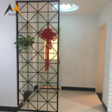 Cheap Stainless Steel Room Divider Partition Screen for Living Room