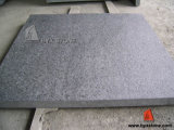 Flamed Black G684 Granite Pearl Tiles for Wall and Flooring