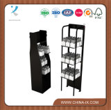 Floor Standing Metal Display Rack for Beverage