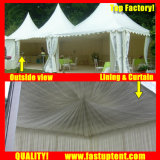 Clear Tent Transparent High Peak Pagoda Tent for 300 People Seater Guest