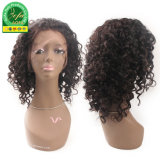 Wholesale Unprocessed Brazilian Hair Lace Front Wig with Cuticle Aligned.