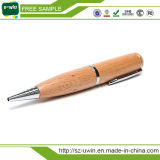 Natural Wooden Pen Shape 8GB USB Drives Flash Disk