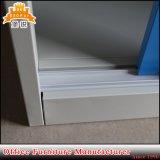 Glass Sliding Door Steel Cupboard Display Cabinet with 4 Adjustable Shelves