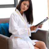 100% Cotton Waffle Hotel Embroidery Underwear Pajamas Bathrobe