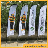 4.5m Exhibition Aluminium Double Side Printing Flying Banner/Feather Flag