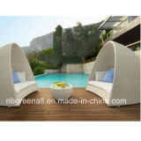 Luxury Sun Bed for Rattan/Patio Outdoor Furniture
