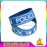 High Quality Silicon Wristbands, Charm Silicone Bracelet