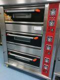 Advanced 3 Decks 6 Trays Gas Deck Oven/Electrict Deck Oven Baking Equipment