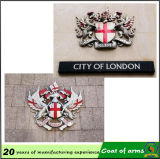 Custom Metal 3D Emblem for Government Building Wall