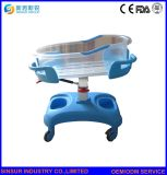 Hospital Furniture Luxury ABS Infant Transport New Born Baby Cot