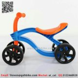 Environment Plastic Material Kids Balance Bike for 1- 4 Years Old Kids