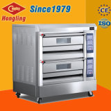 Stainless Steel Double Deck 4 Trays Bread Cake Baking Oven Price