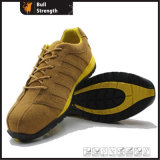 EVA+Rubber Sport Style Safety Shoe with Suede Leather (SN1606)