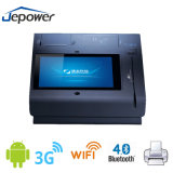 T508 Single Screen POS Terminal with Customer Display and Thermal Printer