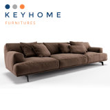 Hotel Furniture Brown Fabric Sofa with High Quality
