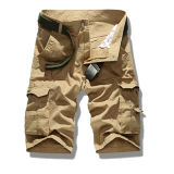 Customize Pure Cotton High Quality Fashion Cargo Short for Men