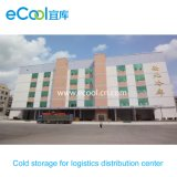 Customized Big Volume Cold Storage for Frozen Food Trader Center