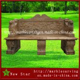 Carved Marble Decorative Outdoor Garden Bench Stone