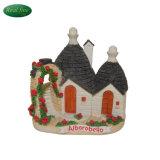 New Design Model Alberobello Resin Building Miniature Houses