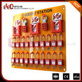 Elecpopular New Multi-Purpose Electrical Lockout Tagout Board with 36 Locks Kit/Station