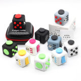 Mini Cube Relieves Anxiety and Stress Juguete for Adults Squeeze Fun Fidget Desk Spin Toys