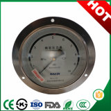 Back and Front Flang 60mm Precision Pressure Gauge with Attractive Price