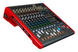 8 Channels Microphone Mixer with Amplifier Plx8