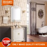 Hot Sale European Style MDF Bathroom Vanity with Mirror Cabinet