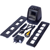 """2.4"""" TFT LCD 5MP / 10MP USB 2.0 35mm/135mm Film Scanner Support SD Card (Black)"""