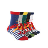 Cute Cartoon Boy Tube Socks