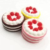 Cute Mini Cake Soft PU Squishy Foam Dessert Toys