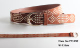 Fashion Accessories Studs Women Belt (F7135E)