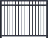 Aluminum Picket Fence Metal Garden Contemporary Aluminum Garden Border Fence Metal Panels