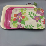 Colorful Printed Reusable Food Serving Tray