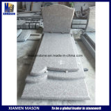 G664 France Simple Granite Tombstone